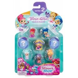 Fisher Price Shimmer i Shine FCY61 Zestaw ośmiu figurek dżinów