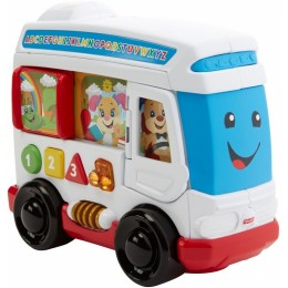 Fisher Price FHF11 Zabawka interaktywna - Autobus Szczeniaczka