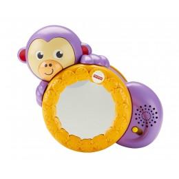 """Fisher Price FHF75 Lusterko z małpką - """"raczkuj ze mną"""""""