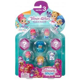 Fisher Price Shimmer i Shine - Zestaw ośmiu figurek dżinów - FHN89