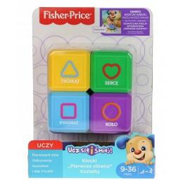 Fisher Price FJP05 Zestaw czterech klocków - Kształty