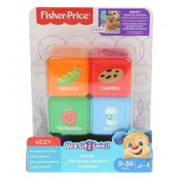 Fisher Price FJP29 Zestaw czterech klocków - Artykuły spożywcze