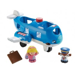 Fisher Price FKC78 Little People - Samolot z figurkami