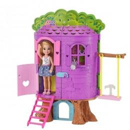Barbie FPF83 Klub Chelsea - Domek na drzewie