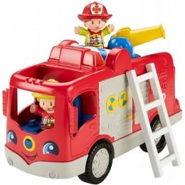 FIsher Price FPV37 Little People - Wóz Strażacki Małego Odkrywcy
