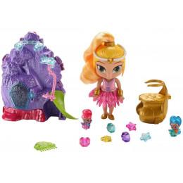 Shimmer i Shine - Salon piękności Leah i magiczny ogród 2w1 - Zestaw z lalką GFB42
