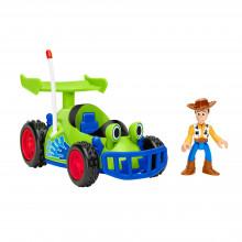 Imaginext Toy Story - Wyścigówka Chudego - Pojazd z figurką GFR99