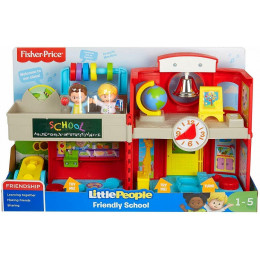 Fisher Price - Little People - Szkoła - Wersja angielska - GJC08
