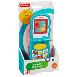 FISHER PRICE Y6979 Telefonik z klapką