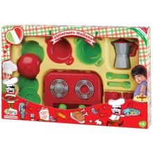 FARO 4827 Zestaw z kuchenką i ekspresem do kawy