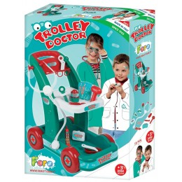 FARO 6500 Wózek lekarski doktora + akcesoria