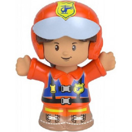 Fisher Price – Little People – Figurka pilot Louis – FGX52