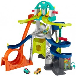 Fisher Price - Little People – Zestaw torów z pętlą + 2 autka GMJ12