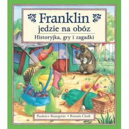 Debit - Książeczka z zagadkami Franklin jedzie na obóz - 57492
