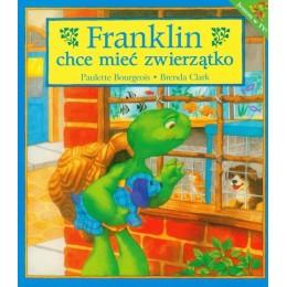 Debit - Książeczka Franklin chce mieć zwierzątko - 73085