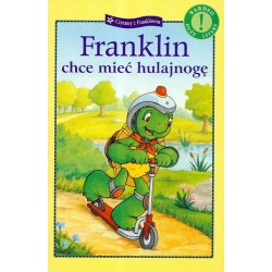 Debit - Książeczka Franklin chce mieć hulajnogę - 74983