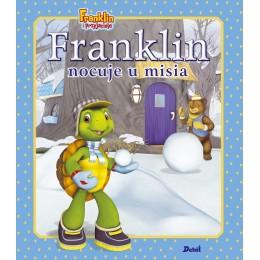 Debit - Książeczka Franklin nocuje u misia - 79292