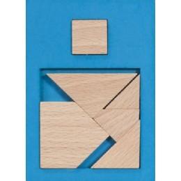 Fridolin - IQ-Test - Wypełnij przestrzeń - Mały kwadrat 1 - 17102
