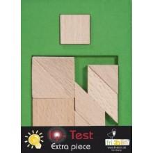 Fridolin - IQ-Test - Wypełnij przestrzeń - Mały kwadrat 2 - 17103