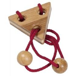 Fridolin - IQ-Test - Puzzle - Dwie kulki i trójkąt - 17136