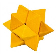 Fridolin - IQ-Test - Mini puzzle 3D - Gwiazda - 17594