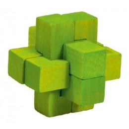 Fridolin - IQ-Test - Mini puzzle 3D - Krzyż - 17596