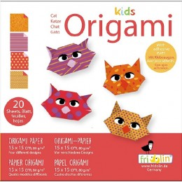 Fridolin - Kids Origami - Kot - 11371