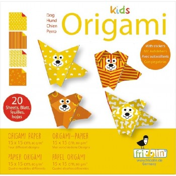 Fridolin - Kids Origami - Piesek - 11372