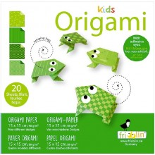 Fridolin - Kids Origami - Żaba - 11374