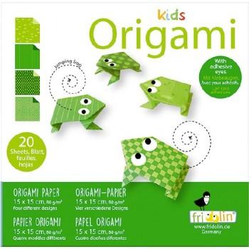 Fridolin - Kids Origami - Żaba - 11374