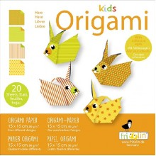 Fridolin - Kids Origami - Królik - 11375