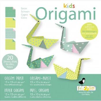 Fridolin - Kids Origami - Łabędź - 11377