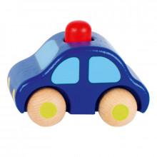 GOKI 55011 Drewniany samochodzik - ciemnoniebieski