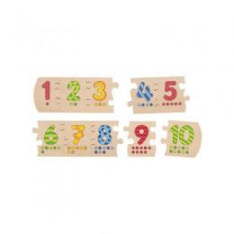 GOKI - Układanka z cyferkami - Puzzle 57012
