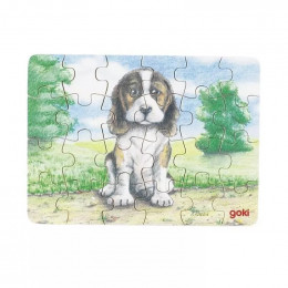 Goki - Mini Puzzle - Piesek - 57653