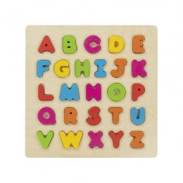 GOKI - Puzzle Alfabet 3D - Układanka drewniana 57696