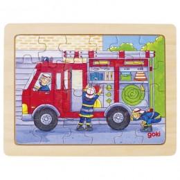 GOKI - Puzzle drewniane - Straż pożarna 57739