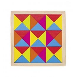 GOKI - Drewniana układanka - Mozaika 36 el. 58586