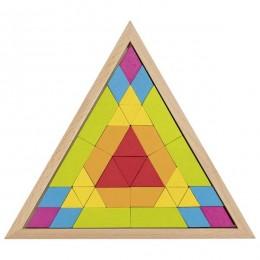 GOKI - Układanka Mozaika - Trójkąt 58590