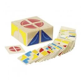 GOKI 58649 Układanka drewniana - Puzzle Kubuś