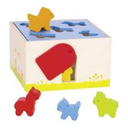 GOKI - Drewniany sorter kształtów - Farma 58665