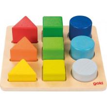 GOKI 58753 Drewniany sorter kształtów