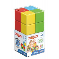 GEOMAG –– Klocki magnetyczne Magic Cube – 8el. 054