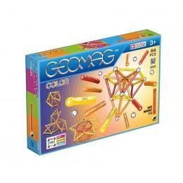 GEOMAG - Klocki magnetyczne - 262 - Color 64 elementy