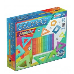 GEOMAG – Klocki magnetyczne Rainbow 32 el. 3700