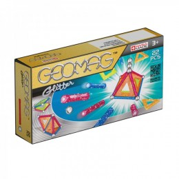 GEOMAG Klocki magnetyczne - 530 - Glitter 22 elementy