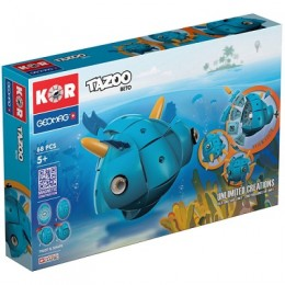 GEOMAG Klocki magnetyczne - 601- Kor Tazoo Beto 68 elementów