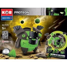 GEOMAG Klocki magnetyczne - 611- Kor Proteon Aki 53 elementy
