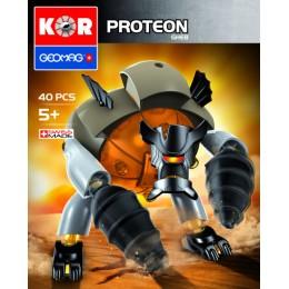 GEOMAG Klocki magnetyczne - 641 - Kor Proteon Gheb 40 elementów
