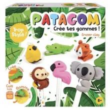 Patagom – Zestaw z masą do tworzenia gumek do mazania – Zwierzęta 262500